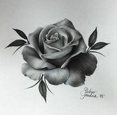 dessins de tatouage 2019 Incredible Realism Rose Art by - Tattoo Designs Photo Rose Drawing Tattoo, Tatoo Art, Tattoo Sketches, Body Art Tattoos, Tattoo Drawings, New Tattoos, Sleeve Tattoos, Cool Tattoos, Pink Tattoos