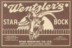 Star Brewing Co. Ltd. by Thomas Fisher Rare Book Library, via Flickr Vintage Packaging, Vintage Labels, Vintage Ads, Elderflower Champagne, Canadian Beer, Homemade Beer, Beer Poster, Beer Art, Beer Company