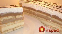 Fantastický dezert pre celú rodinu, ktorý zvládnete rýchlo, jednoducho a najmä bez pečenia.