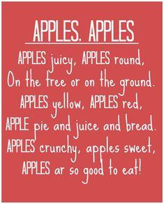 Handprint Apple Tree ~ Fun Fall Art Project For Kids (she: Brooke) - Or so she says...