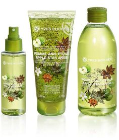 Yves Rocher Les Plaisirs Limited Edition for Summer 2015 Nature Apple Star Anise