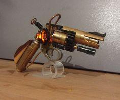 Raygun Steampunk Revolver
