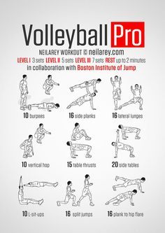 Having trouble getting off the ground or not getting the hang time you need to get past the blockers? Then this is the workout for you. Working on explosive vertical and lateral leg movement and trunk stability and rotation to help you control your...