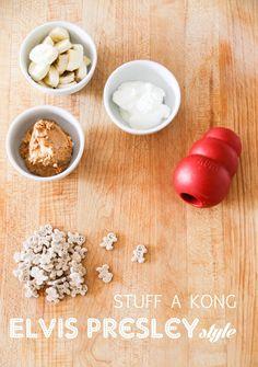 Five Dog Farm: How to stuff a Kong... Elvis Presley style
