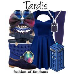 """Tardis"" by fofandoms on Polyvore"