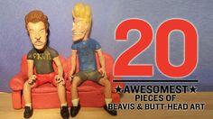 The 20 Awesomest Pieces of Beavis & Butt-Head Art - http://www.heavy.com/comedy/2011/11/the-20-awesomest-pieces-of-beavis-butt-head-art/