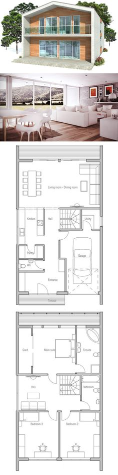1000 ideas about contemporary home plans on pinterest for Concept home com