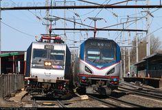 RailPictures.Net Photo: Amtrak 632 Amtrak Siemens ACS-64 at Elizabeth, New Jersey by Carl Perelman