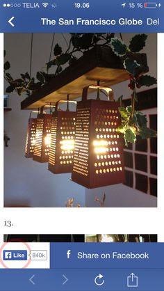 Lampe rivejern