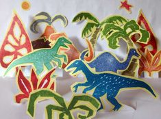 The Dinosaur Parade - free printable download from The Toymaker