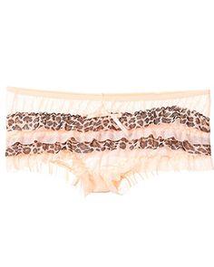 rue21 Ruffle undies. $3.99