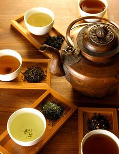 Teas, Chais, Chocolates & Herbal Tisanes
