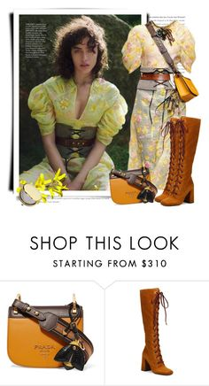 """""""Prada Fall 2016"""" by sella103 ❤ liked on Polyvore featuring Prada and Estée Lauder"""