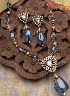 Bead Jewellery, Gems Jewelry, Diamond Jewelry, Beaded Jewelry, Silver Jewelry, I Love Jewelry, Jewelry Design, Diamond Pendant, Diamond Stud