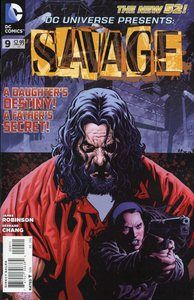 DC Universe Presents - Savage, Part One: Daddy's Little Girl (Issue) Book Cover Art, Comic Book Covers, Gi Joe, Dc Universe, Marvel Dc, Marvel Comics, Vandal Savage, Super Hero Shirts, Manga News