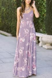 8c8f9a1448e Our new floral cami maxi dress is absolutely stunning. From the exclusive  lavender floral print