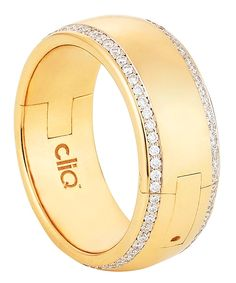 Band in 18k gold with 1 ct. t.w. diamonds; $6,499; Superfit, Philadelphia;
