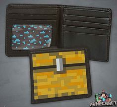15 Incredibly Unique Minecraft Toys That'll Take Your Geekiness To New Levels Minecraft Bag, Minecraft Video Games, Minecraft Stuff, Michael Christmas, Gamer Room, Star Citizen, Bridal Shower Games, Treasure Chest, Jouer