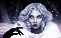 'Frost Queen' created for slashTHREE Exhibition #19