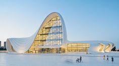 Heydar Aliyev Cultural Center - Zaha