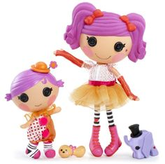 MGA Entertainment Lalaloopsy Little's Doll Squirt Lil' Top Mattel Shop, Random Kid, Kids Trampoline, Monster High Birthday, Lalaloopsy Party, Slippers For Girls, Circus Party, Anime Costumes, Old Toys