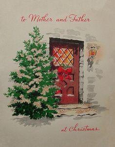 Christmas cottage.