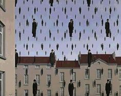 Rene Magritte - Golconde