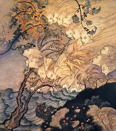 The Tempest 1926 Arthur Rackham                                                                                                                                                                                 More