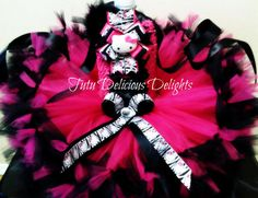Wild Hello Kitty Inspired Hot Pink and by TutuDeliciousDelight, $40.00