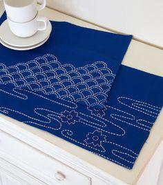 Patterns: Sashiko Placemats