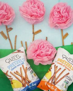 Spring into snack time with our whole grain, gluten-free pretzels in classic sea salt and touch of honey! Gluten Free Pretzels, Gluten Intolerance, Sea Salt, Grains, Honey, Touch, Snacks, Spring, Classic
