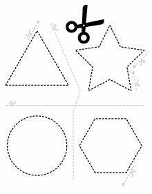 Worksheets 528328600028732797 - Scissors and shapes Source by Preschool Activity Sheets, Preschool Writing, Preschool Learning, Kindergarten Worksheets, Toddler Preschool, Preschool Activities, Teaching Kids, Dementia Activities, Kids Worksheets