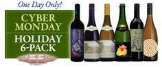 #CyberMonday is on! Six favorite wines, just right for holiday gifts and entertaining for $99. Club member price: $89. Plus $15 flat rate shipping. Hurry, quantities are limited - Shop now! #bonnydoonvineyard http://shop.bonnydoonvineyard.com/holiday-6-pack--emlow-flat-rate-shippingem--offer-ends-december-2-2013-p688.aspx?utm_source=Cyber+Monday+6+pack+12%2F2%2F13&utm_campaign=last+chance+tday+delivery&utm_medium=email