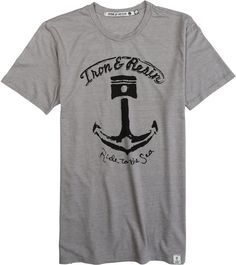 IRON & RESIN RIDE TO THE SEA TEE > Mens > Clothing > New | Swell.com