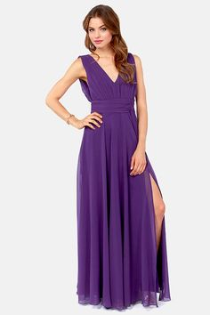 Rubber Ducky Just a Dream Purple Dress at LuLus.com! $100