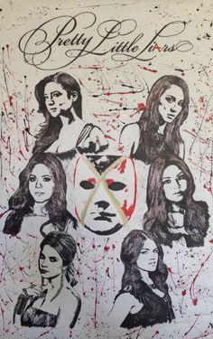 "40 ""Pretty Little Liars"" Season Six Fan-Art Posters so Good, They Could Be Real"