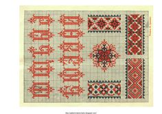 Free Easy Cross, Pattern Maker, PCStitch Charts + Free Historic Old Pattern Books: Ukrainian Embroidery 1930 - украинские вышивки 1930 (11 of 13)