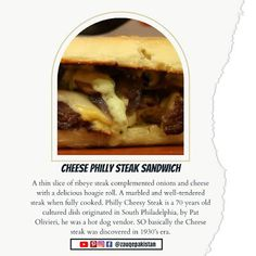 Cheese Philly Steak Sandwich - Philly Cheesesteak Recipe - Cheesesteak Recipe - Instant Pot Philly Cheesesteak Philly Steak Sandwich, Steak Sandwich Recipes, Cheesesteak Recipe, Instant Pot, Pakistan, Sandwiches, Dishes, Cooking, Food
