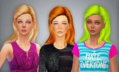 Lullaby Sims ♠ Retexture MaySims Hair 35.