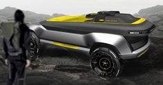 Land Rover Melrakki by Lukas Medeisis Adobe Photoshop, Tron Bike, Umea, Institute Of Design, Car Sketch, Transportation Design, Automotive Design, Alloy Wheel, Interactive Design