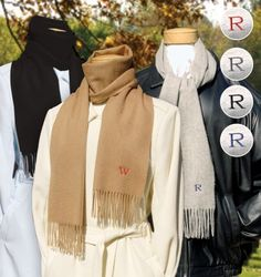 3f46f9c04c Wedding Gift Ideas For Bridesmaid and Groomsmen Cashmere Scarf