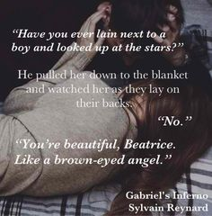 She shyly began to run her fingers along his jaw... He smiled at her touch and closed his eyes.  #GI @sylvain Reynard @gifansfilipino