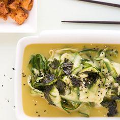 Gurkensalat Clean Eating, Seaweed, Diy Food, Asparagus, Green Beans, Salads, Good Food, Chicken, Vegetables