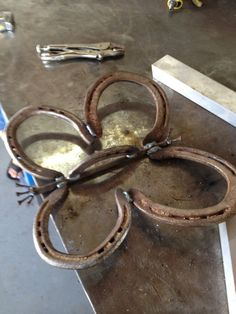 Horse shoe Butterfly  by JaritJohnson on Etsy, $18.00