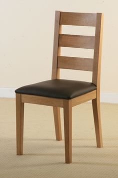 Room Oak Furniture Land Tokyo Solid Dark Mango Dining Chair
