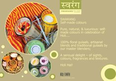 Swarang 2016 : Self made colours for Holi – Red Earth