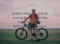 Quotes about Justice must not only be seen to be done but has to be seen to be believed.... #JBMorton   with images background, share as cover photos, profile pictures on WhatsApp, Facebook and Instagram or HD wallpaper - Best quotes