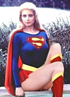 Helen Slater as Supergirl (DC Comics). Supergirl Movie, Supergirl Superman, Batgirl, Batman, Comic Book Characters, Comic Book Heroes, Comic Character, Helen Slater Supergirl, Superman Family