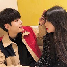 something special ♡ Mode Ulzzang, Ulzzang Korea, Korean Ulzzang, Ulzzang Girl, Cute Couples Goals, Couples In Love, Couple Goals, Cute Korean, Korean Girl