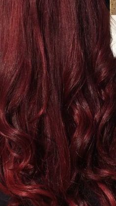 Red hair with Colour wand tools